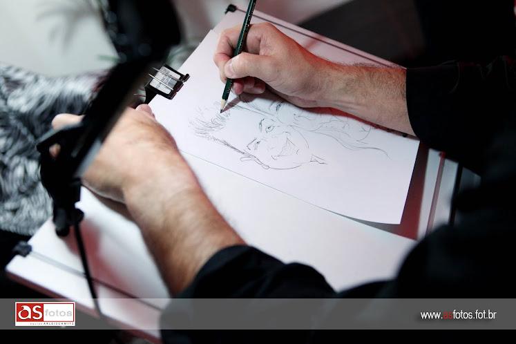 Desenhando num Casamento