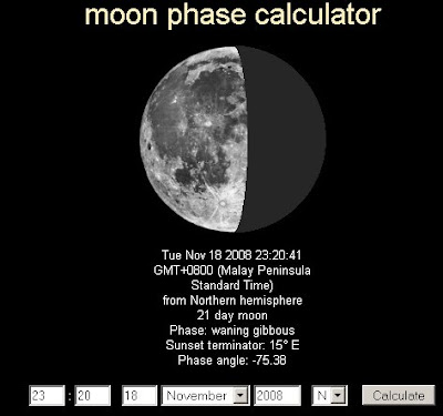 Moon Phase Tonight | New Calendar Template Site