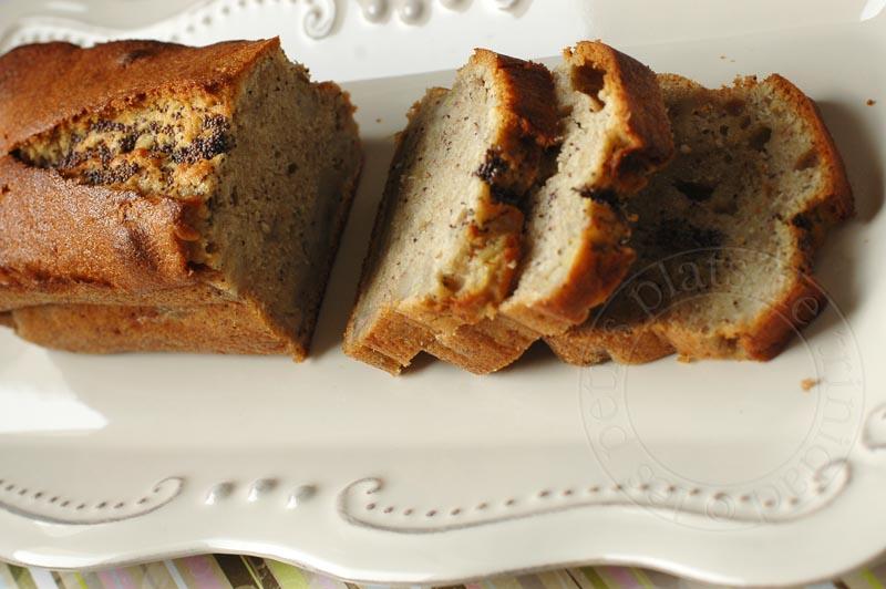 Recette gateau moelleux banane gingembre