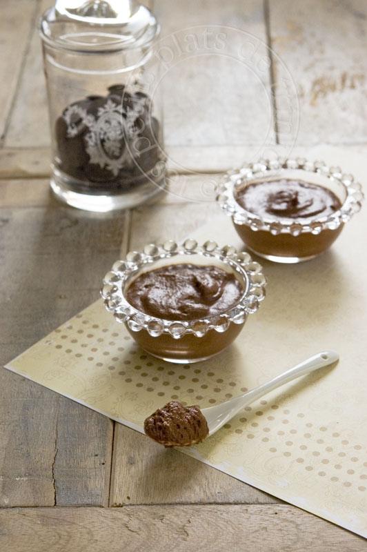 Les petits plats de trinidad mousse fondante la cr me de marron et au chocolat doublement - Mousse a la creme de marron ...