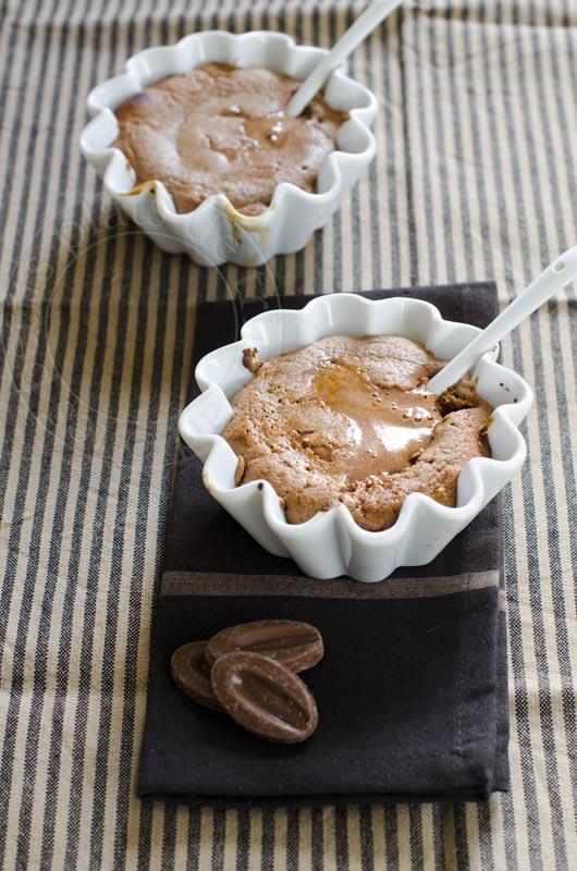 les petits plats de trinidad coulants au chocolat au lait et fruit de la passion. Black Bedroom Furniture Sets. Home Design Ideas