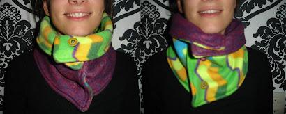 Cuello amarillo y morado doblefaz - Mayo 10