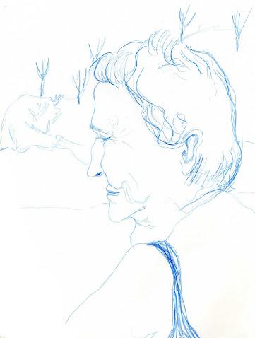 Abuela en La Playa - Agosto 09
