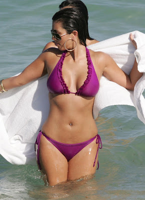 Kardashian Bikini Kim Zebra