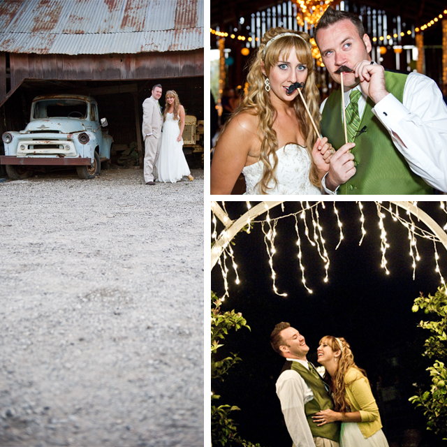 real wedding shenanigans marni and michael 39s vintage country wedding