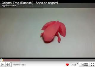Оригами - Жабка