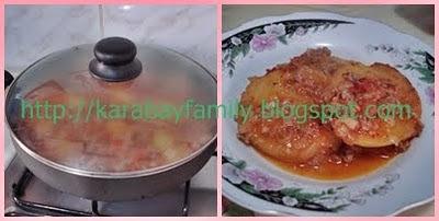Patates Musakka มันฝรั่ง อบ ซอสเนื้อ