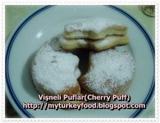 Vişneli Puflar (Cherry Puff)
