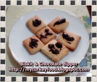 Biskit & Chocolate Dipper