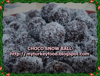 CHOCO SNOW BALL