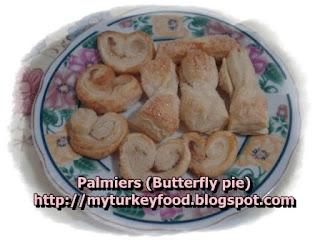 Palmiers (พายผีเสื้อ และ พายกรอบ)