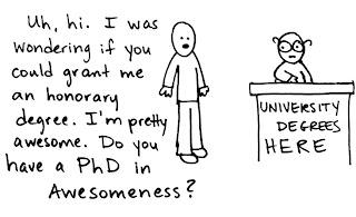 A comic on awesomeness