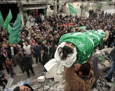 Pembantaian israel di Palestina