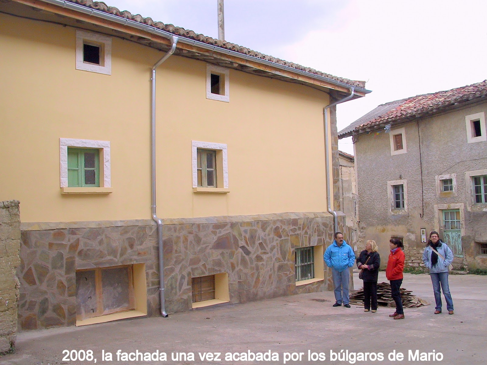 Quintanaloranco rehabilitaci n casa - Rehabilitacion casas antiguas ...