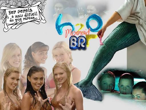 h2o Meninas Sereias