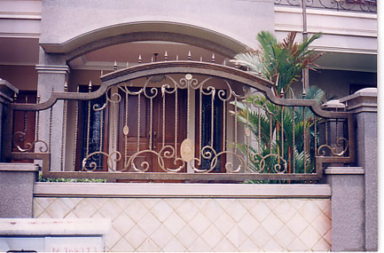 pintu pagar rumah pintu pagar besi pintu pagar rumah atau yang