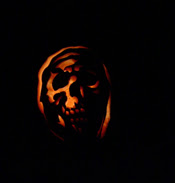 halloween pumpkin carving grim reaper