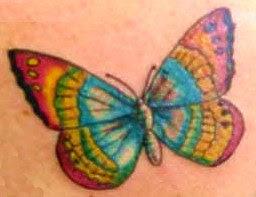Art Body Butterfly Tattoo