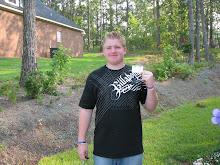 Jayden got his Permit!!!!!