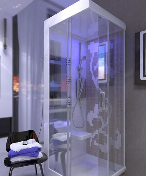 New products electronics future technology to pamper bath digital bathroom - Futuristic bathroom ideas ...