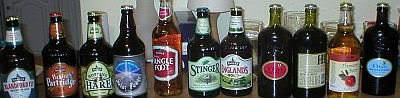 Hopping Hare, Blandford Fly, and other fine English ales