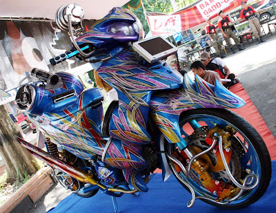 Suzuki Shogun Modifikasi