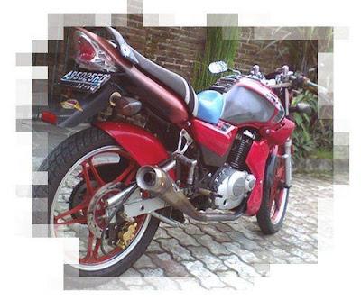 Suzuki Thunder Modifikasi