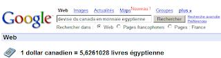 Google convertit 2 devises