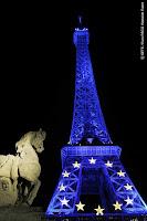 Areva Illumination Tour Eiffel Europe