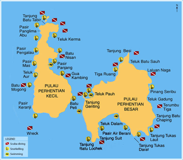 Besut Malaysia  city photos : Pelancongan Terengganu: Pulau Perhentian