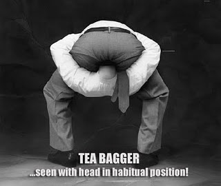 yaall teabaggers andor kochsuckers Teabagger