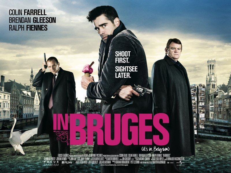 Colin Farrell retrouve le réal de « Bons baisers de Bruges » avec un casting incroyable : Christopher Walken, Sam Rockwell et Mickey Rourke ! Outch ! dans Films in-bruges-1460