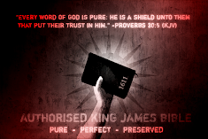 EVERY WORD of God is Pure~