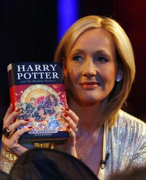 J.K. Rowling novamente é acusada de plágio