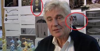 Possíveis imagens de Horcruxes em entrevista com Stuart Craig?
