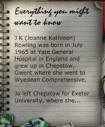 Site oficial de J.K. Rowling foi atualizado
