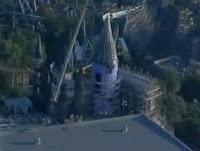 O Castelo de Hogwarts está quase pronto no parque temático baseado na série 'Harry Potter'