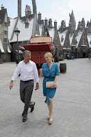 J.K. Rowling visita o parque temático em Orlando | Ordem da Fênix   Brasileira