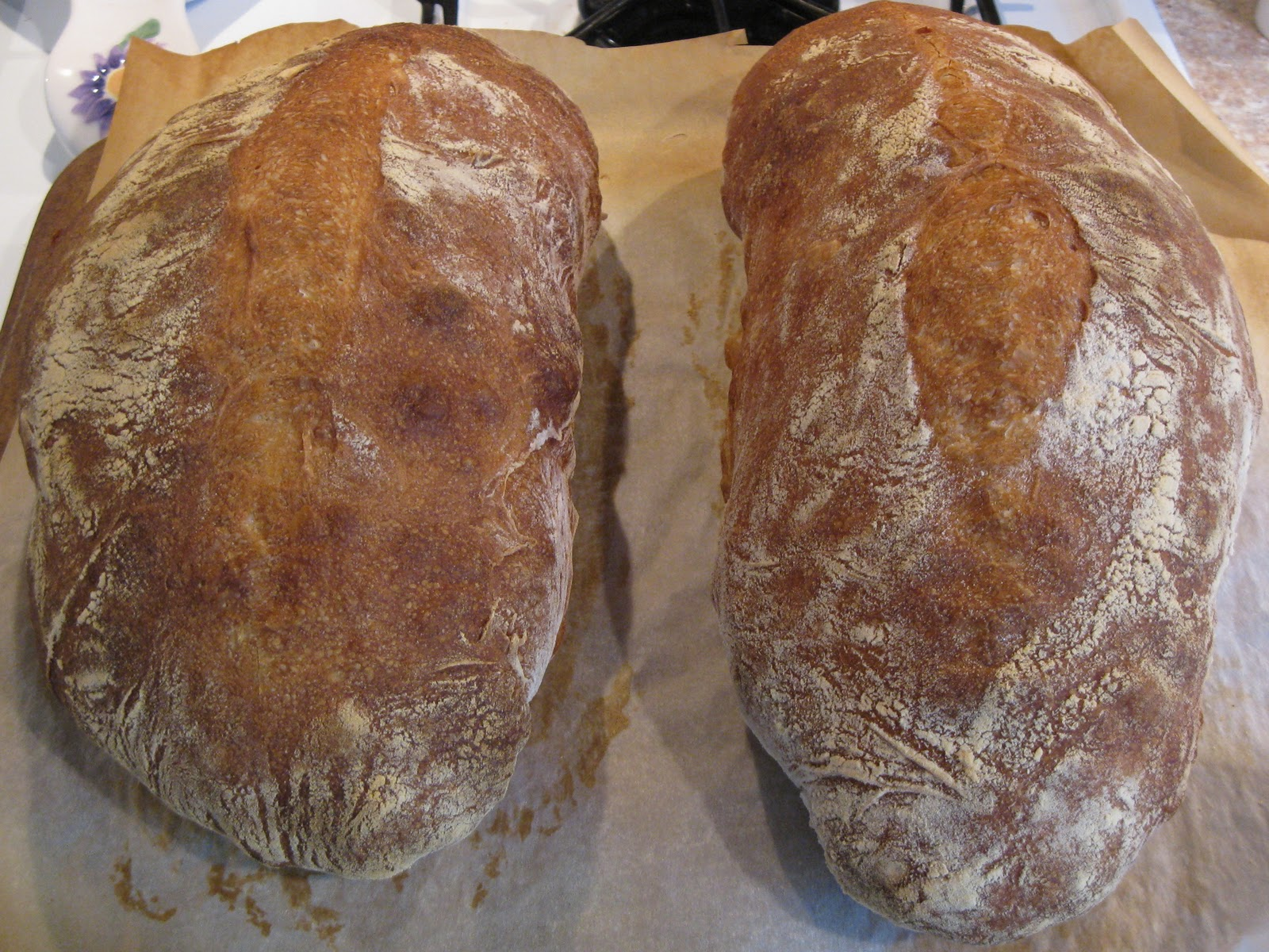 All Things Andrea: Rustic Italian Bread