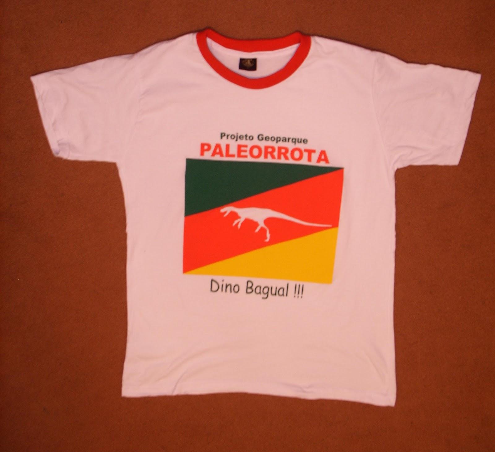 Camiseta da Paleorrota