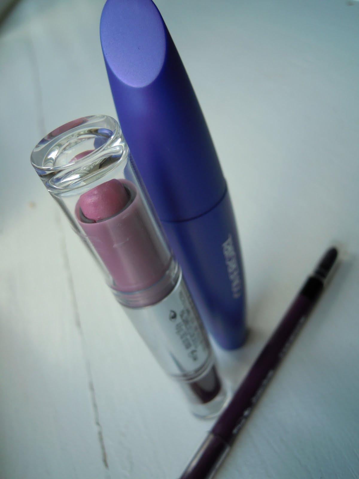 including Smoky Shadow Blast in Purple Plume, Liquidline Blast in Violet