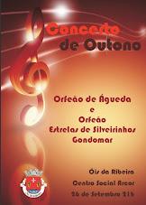 CONCERTO DE OUTONO NO SALÃO CULTURAL DA ARCOR