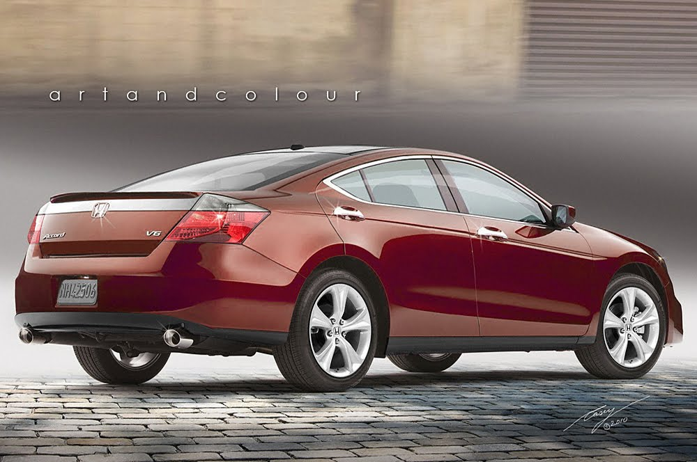 Pushing Pixels Longer, Lower And Wider: My Newest Version Of An Accord 4  Door Coupe