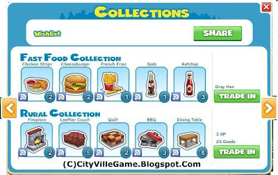 CityVille Game Collections