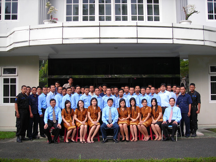 Karyawan Penerbit Erlangga P.Siantar sebelum Cost Cutting Di Gedung Lama