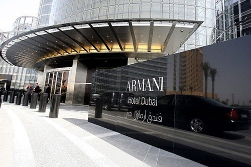 Daily Emails Pics Armani Hotel In Burj Khalifa Tower
