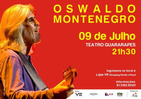 Oswaldo Montenegro Recife