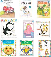 Yayınladığım Çocuk Kitaplarından Örnekler