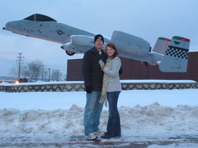 The A10 on a stick, on base...