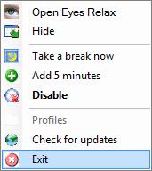 Eye+Relax+03 Eyes Relax   công cụ bảo vệ mắt cho người dùng máy tính